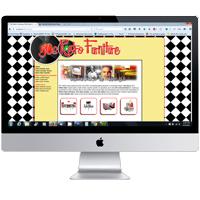 Web design in Atlantic Highlands NJ for 50s Retro Furniture: portfolio