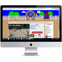 Web design in Atlantic Highlands NJ for Dogs on the Farm: Portfolio