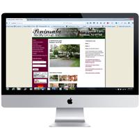 SEO & Web Design in Rumson NJ.  2 Hartshorne portfolio piece.