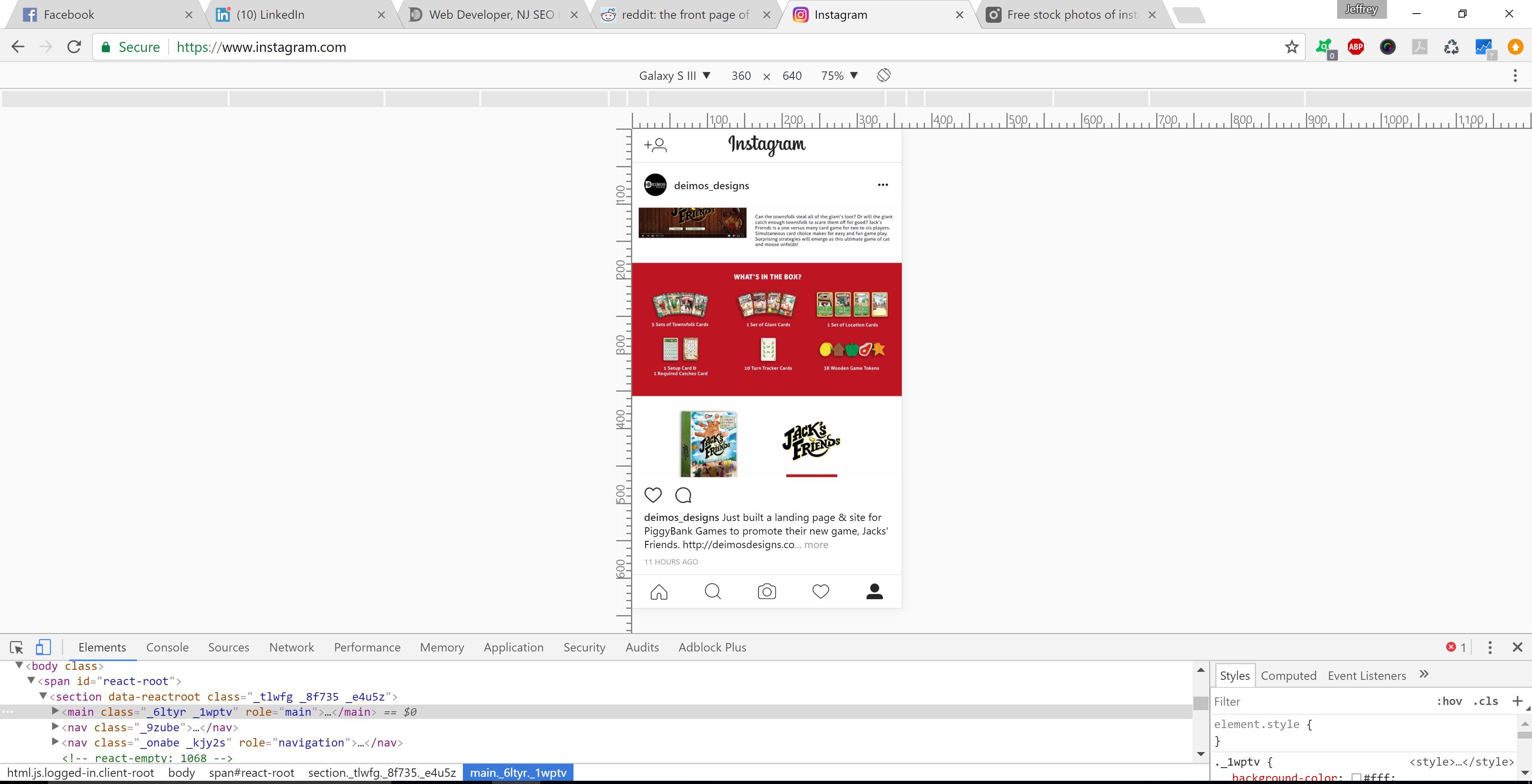 post to instagram from your desktop